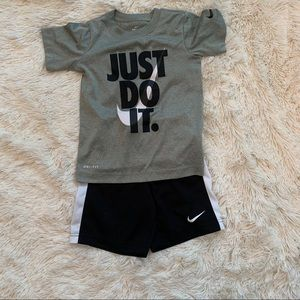 Little Boy Nike Set